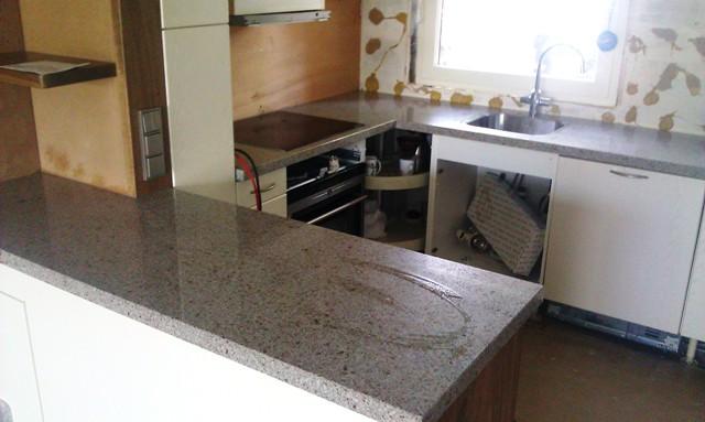 Granietshop voor uw keuken werkblad van graniet composiet en silestone - Werkblad silestone ...