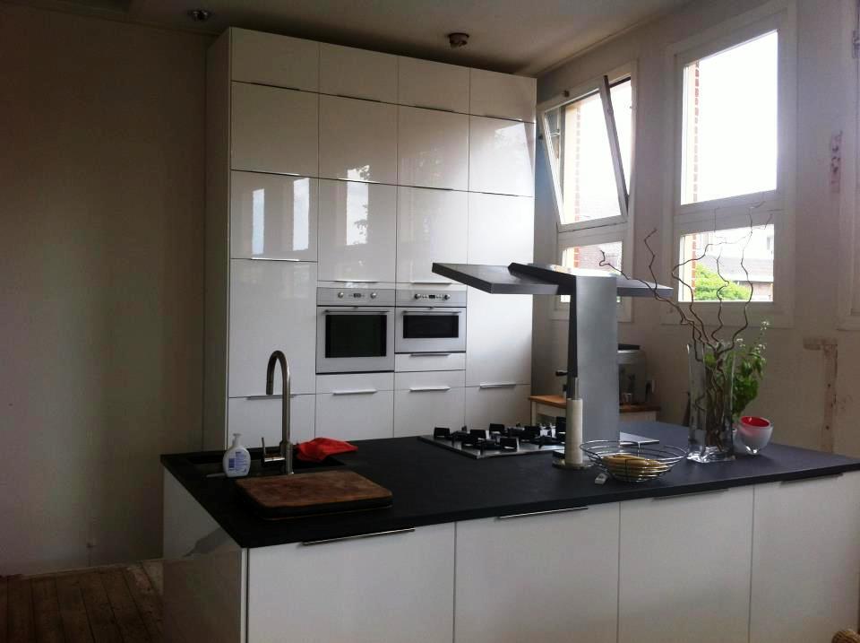 Composiet werkblad op maat prijs: keukenblad composiet of graniet.