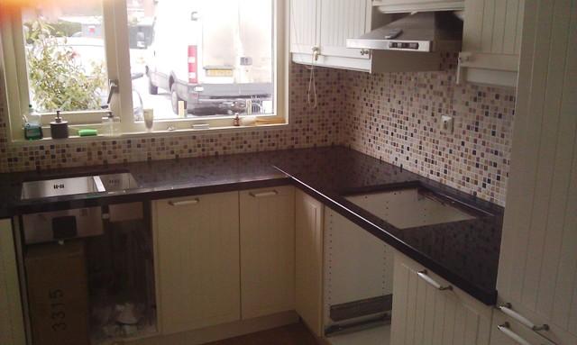 Tegels Keuken Vervangen : Granietshop voor uw keuken werkblad van Graniet, Composiet en